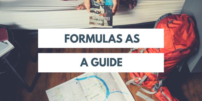 Formulas as