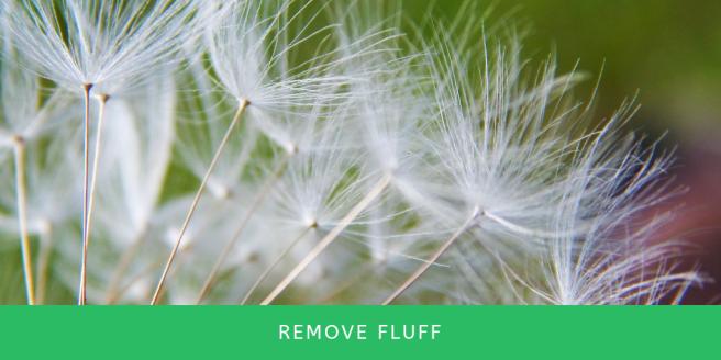 Remove Fluff