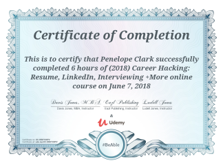 Career Hacking Cert